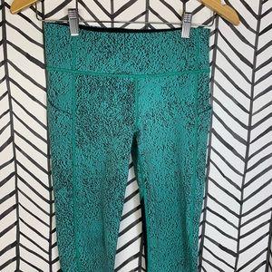 lululemon athletica Pants & Jumpsuits - 🔸 Lululemon pace rival crop Bali breeze jacquard